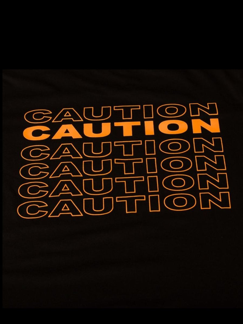 The Caution Tee Red