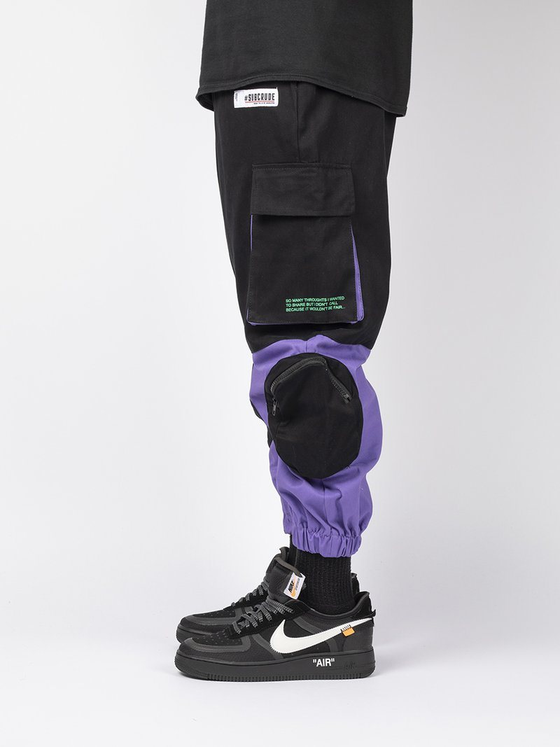 C13 CARGO BLACK + PURPLE