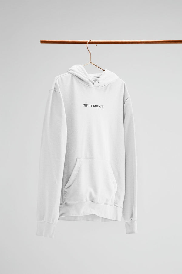 The White Different Hoodie
