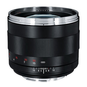 Zeiss ZE 85mm f/1.4 Planar lens - EF mount