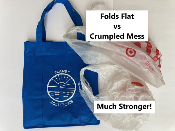 3-Pack Reusable Grocery Shoppers