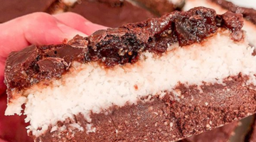 RAW VEEGO PROTEIN LAMINGTON SLICE