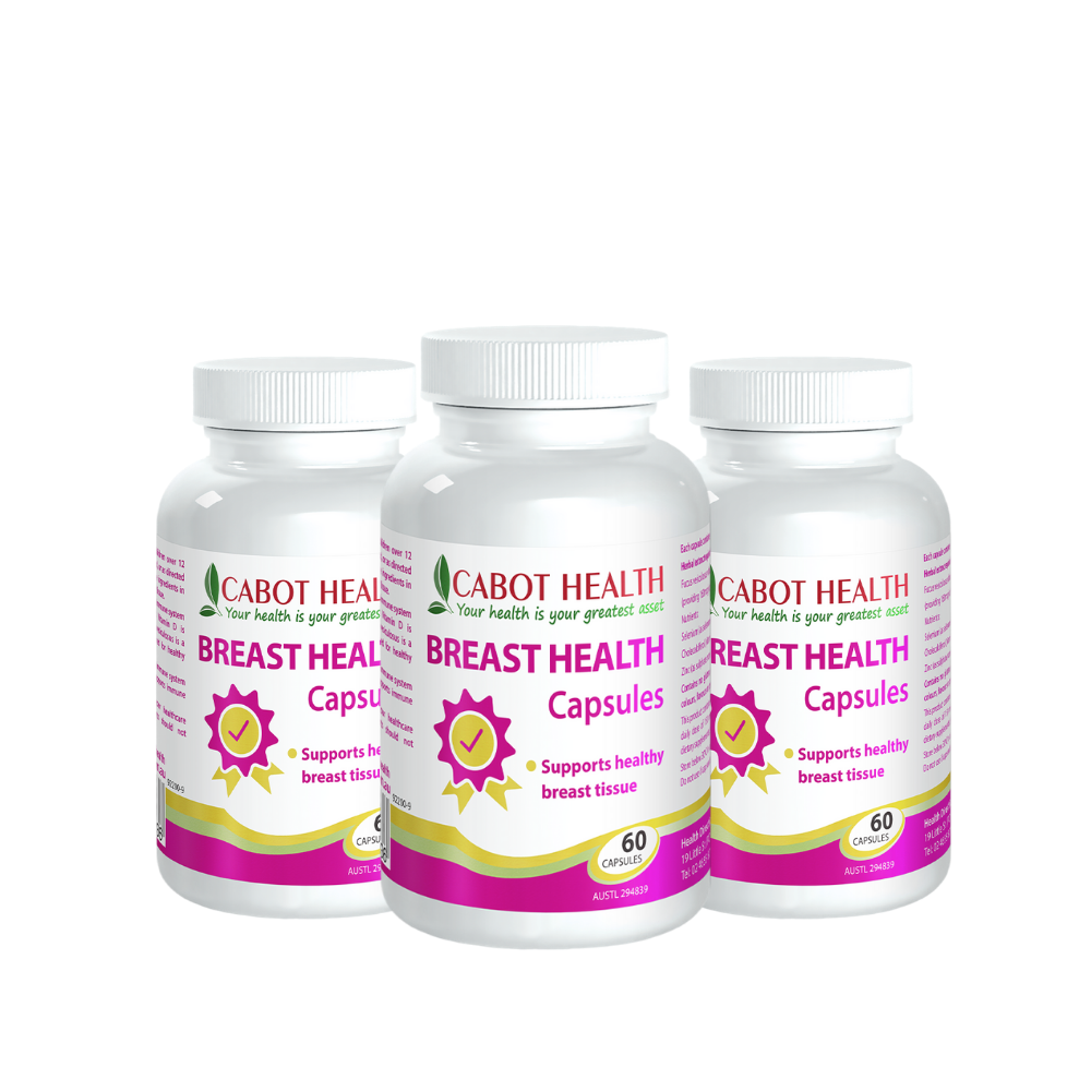 Breast Health - 60 Capsules - The Orchid