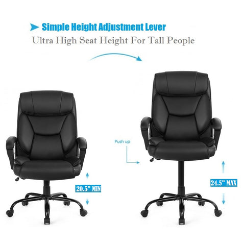 500 LB Capacity Office Chairs