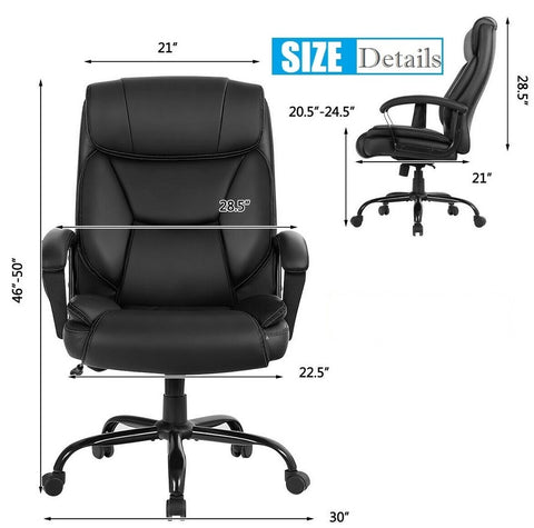 Big and tall 500 lb office chair