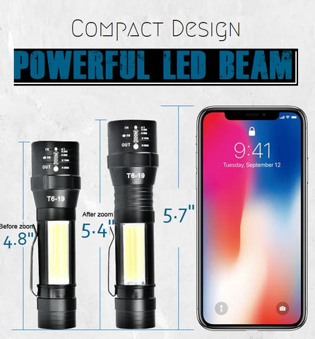 Compact Flashlight For Camping Fishing