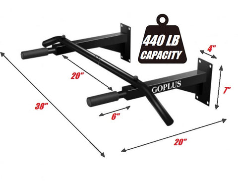 Extra Strong Mountable Pull Up Bars