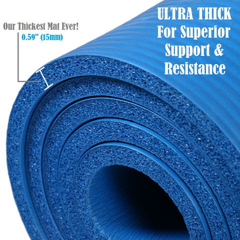 Extra Thick Yoga Mat Thickest