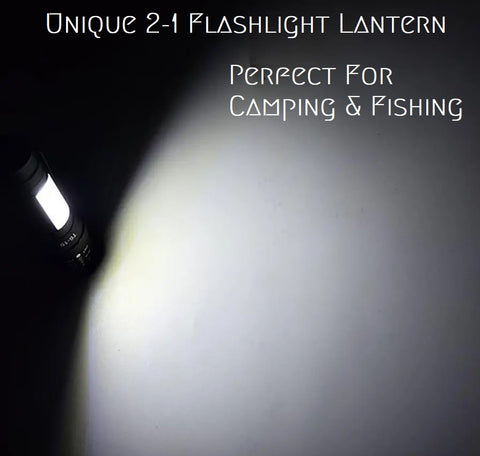 Flashlight With Lantern built in