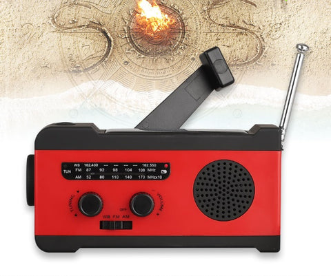 Solar Power Radio For Emergencies