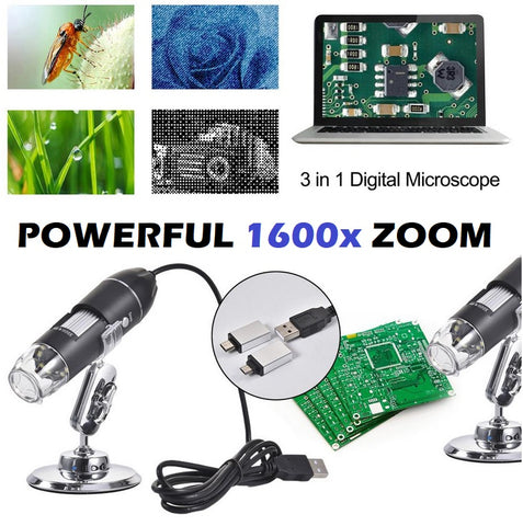 High Definition USB Microscope