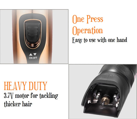 USB Rechargeable hair trimmers