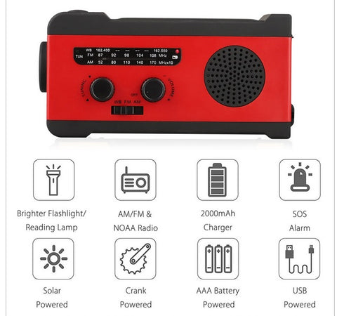 Waterproof Emergency Radio