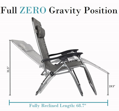 Zero Gravity Chair For Big & Tall People
