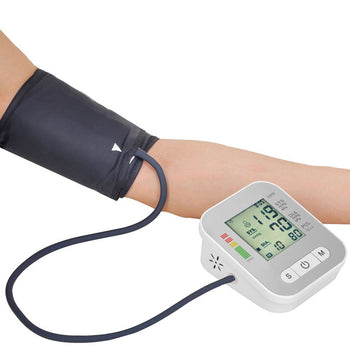 Series 3 Blood Pressure Monitor Arm Cuff For Upper Arm Portable Battery Operated Machine With Voice
