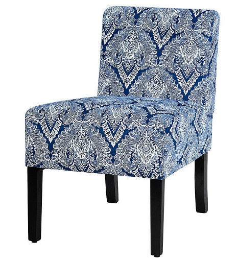 Accent Guest Chair 330 LB Capacity Fabric Padded Dining Chair