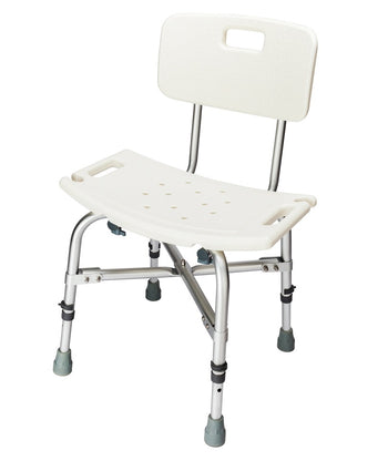 MedEase Heavy Duty Shower Chair For Obese , Heavy People, Big & Tall