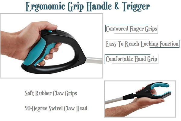 Grabbing Tool Claw The Reacher Grabber Extender Stick For Elderly