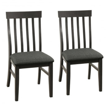 Wooden Kitchen Chairs With Padded Seat For Dining Room