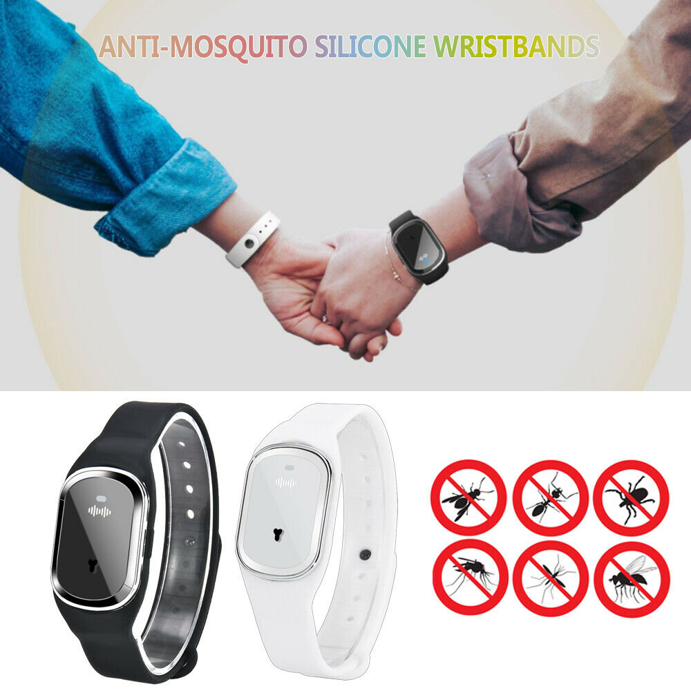 Mosquito Repellent Bracelet Ultrasonic Bug & Insect Wrist Band