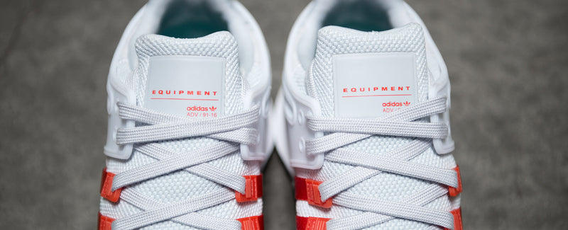"Adidas EQT Support ADV ""Clear Grey/ Bold Orange"""