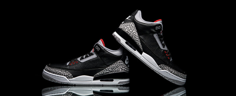 "Air Jordan III Retro OG ""Black / Cement"""