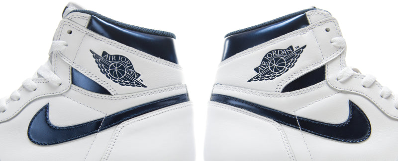 "Air Jordan 1 Retro OG ""Metallic Navy"""