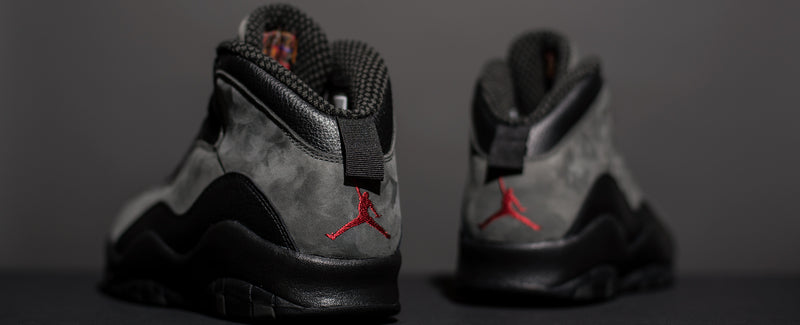 "Air Jordan X ""Dark Shadow"""
