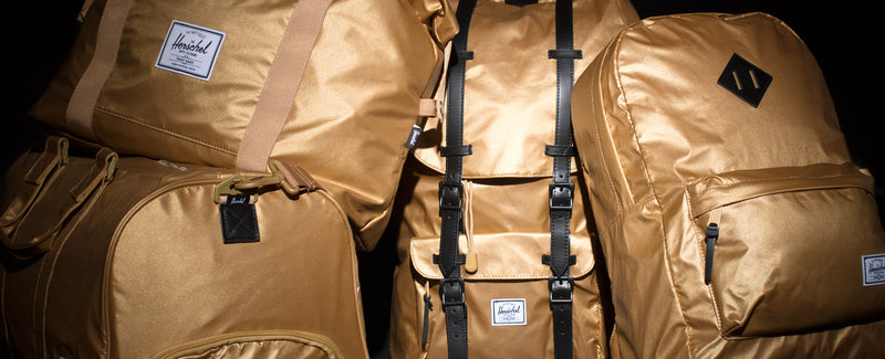 Herschel Supply Co. - Gold Nylon Collection