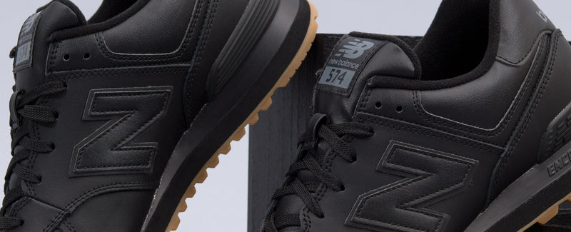 "New Balance 574 ""Black/Gum"""