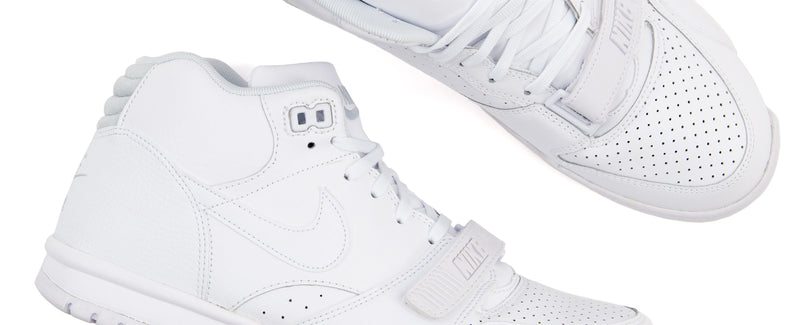 "Nike Air Trainer 1 Mid ""White/Pure Platinum-White"""