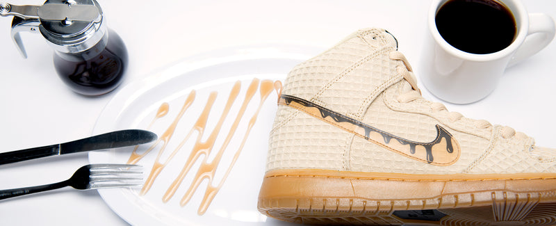 "Nike SB Dunk High ""Chicken & Waffles"""