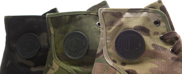 "Palladium Pampa High ""MultiCam"" Collection"