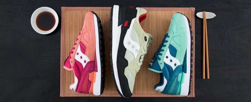 "Saucony Originals ""Sushi Pack"""