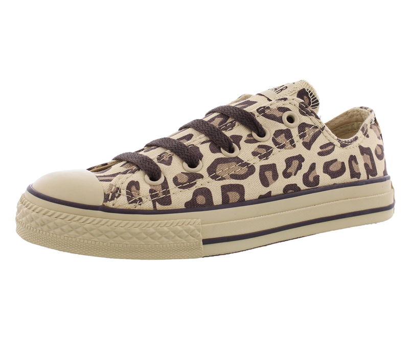 Converse Chuck Taylor All Star Low Ox (Kids) (Leopard)
