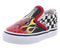 Vans Classic Slip-On (Race Flame) (Toddler)
