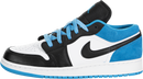 Air Jordan 1 Low SE (Kids) (Laser Blue)