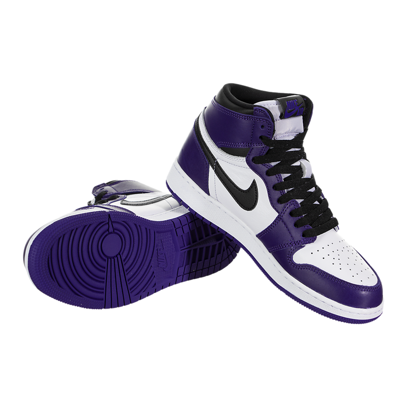 Air Jordan 1 Retro High OG (Court Purple) (Kids)