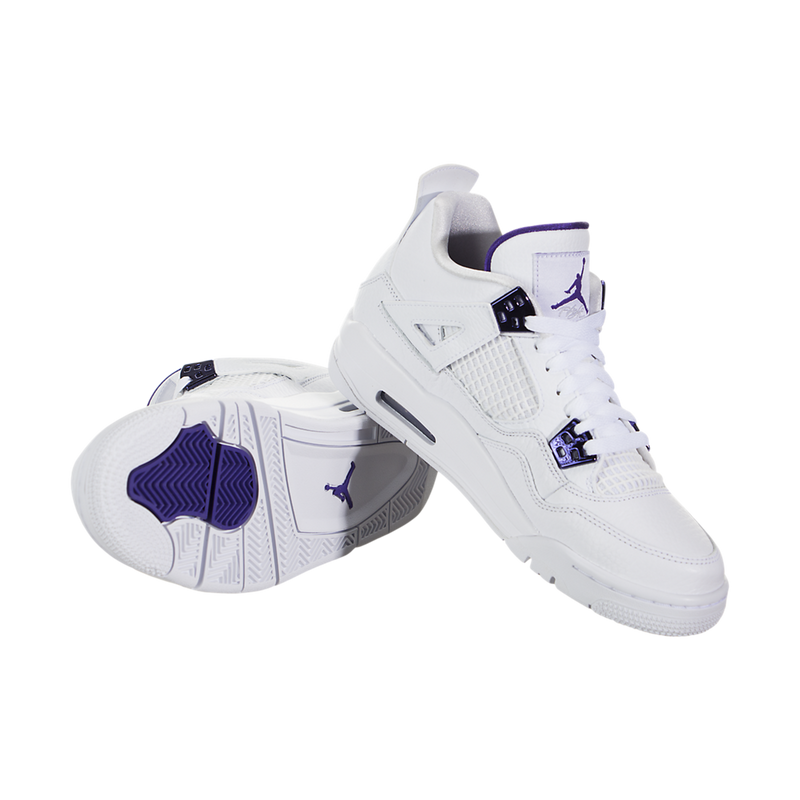 Air Jordan IV (4) Retro (Metallic Purple) (Kids)