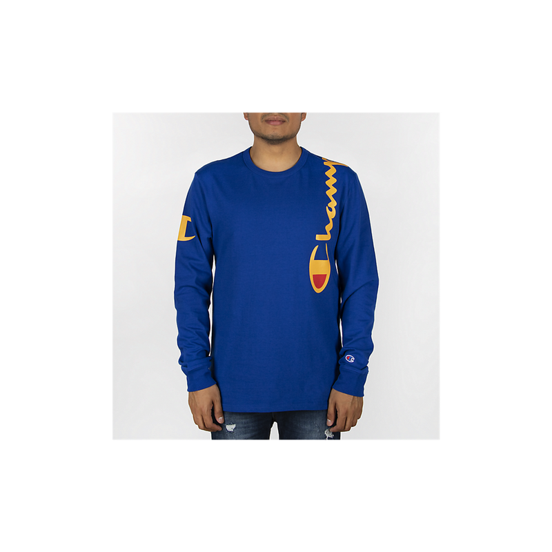 Champion Life Over The Shoulder Logo Heritage LS Shirt