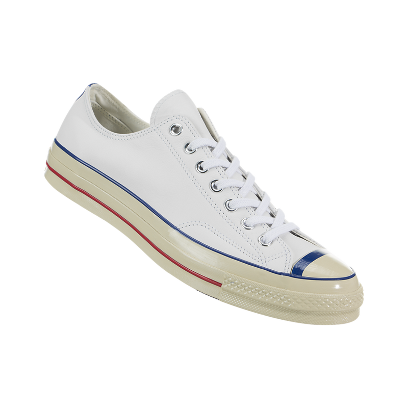 Converse Chuck 70 Ox Unisex Casual Sneakers, Size 4, Color White/Converse