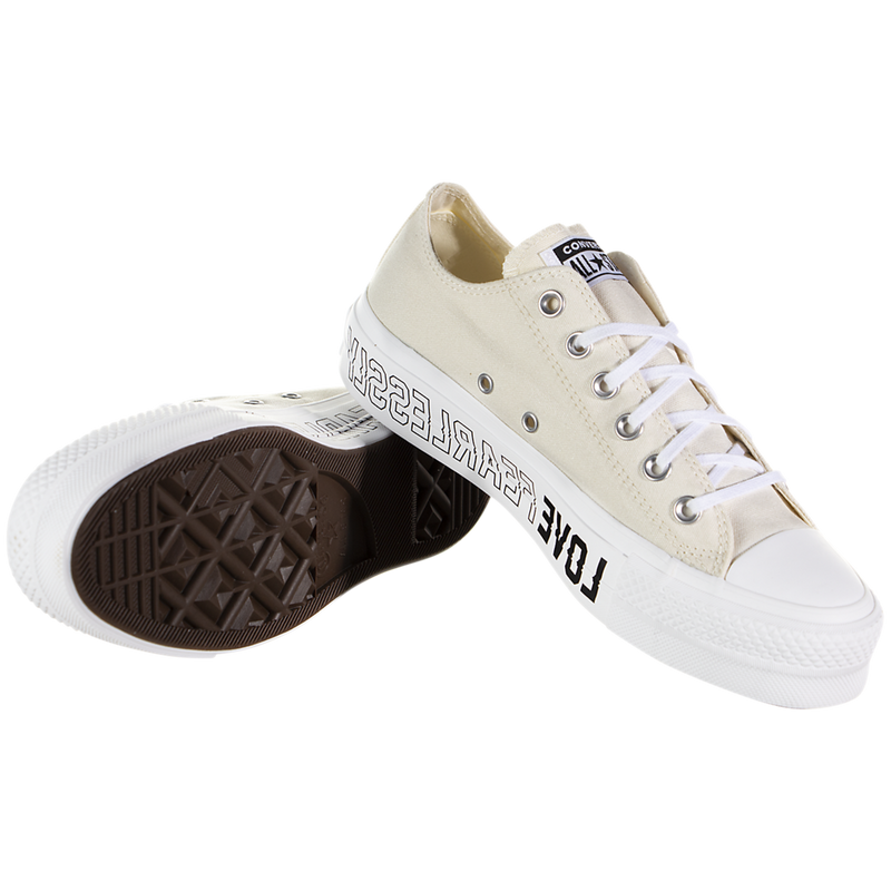 Converse Chuck Taylor All Star Lift Low (Love Fearlessly)