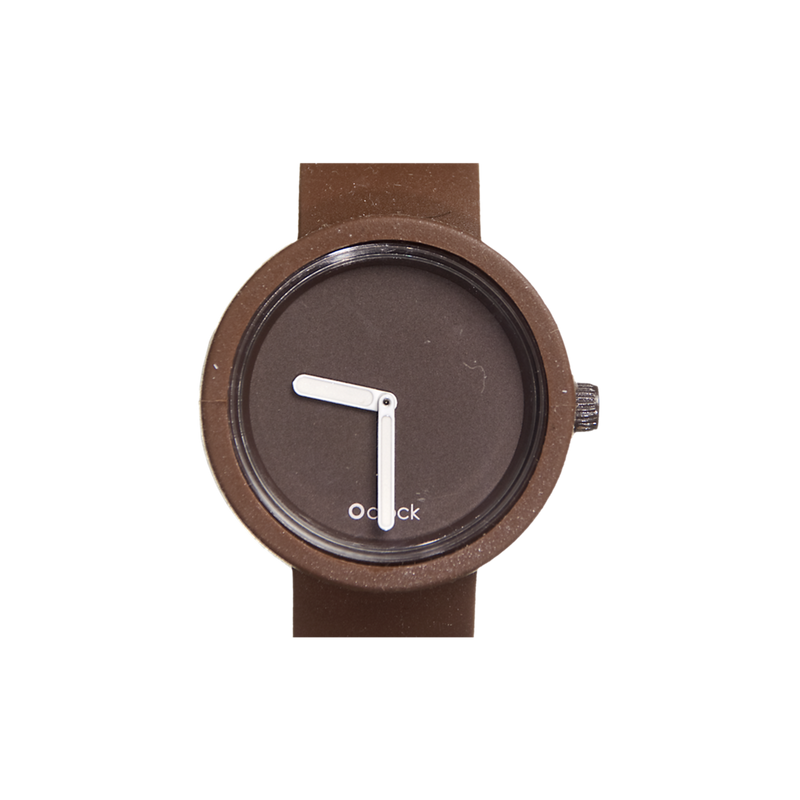 O clock Watch (Chocolate)