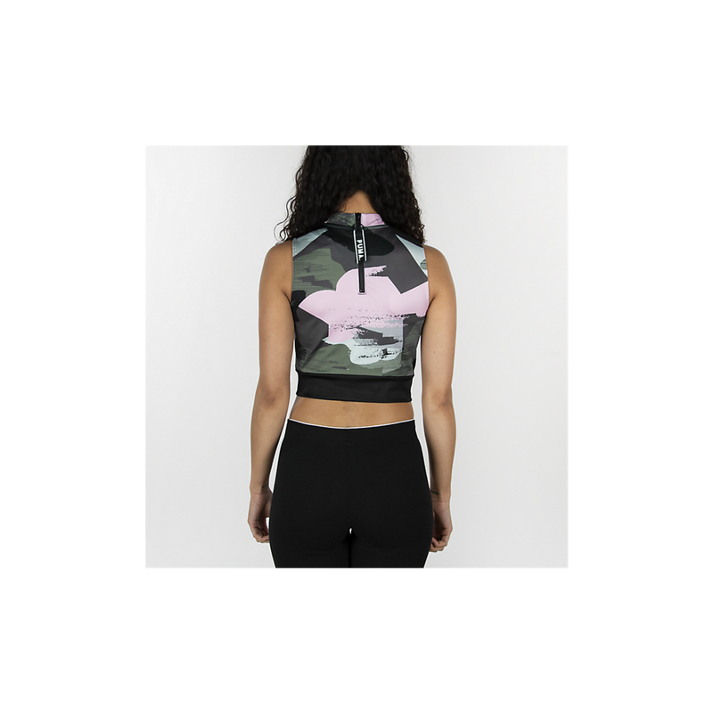 Puma Women's Chase AOP Crop Top