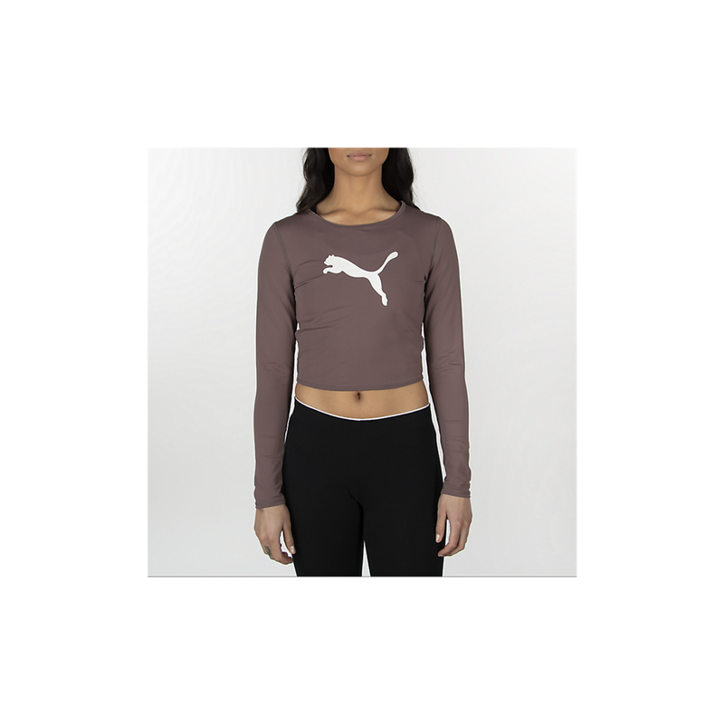 Puma Long Sleeve Luxe Crop Top