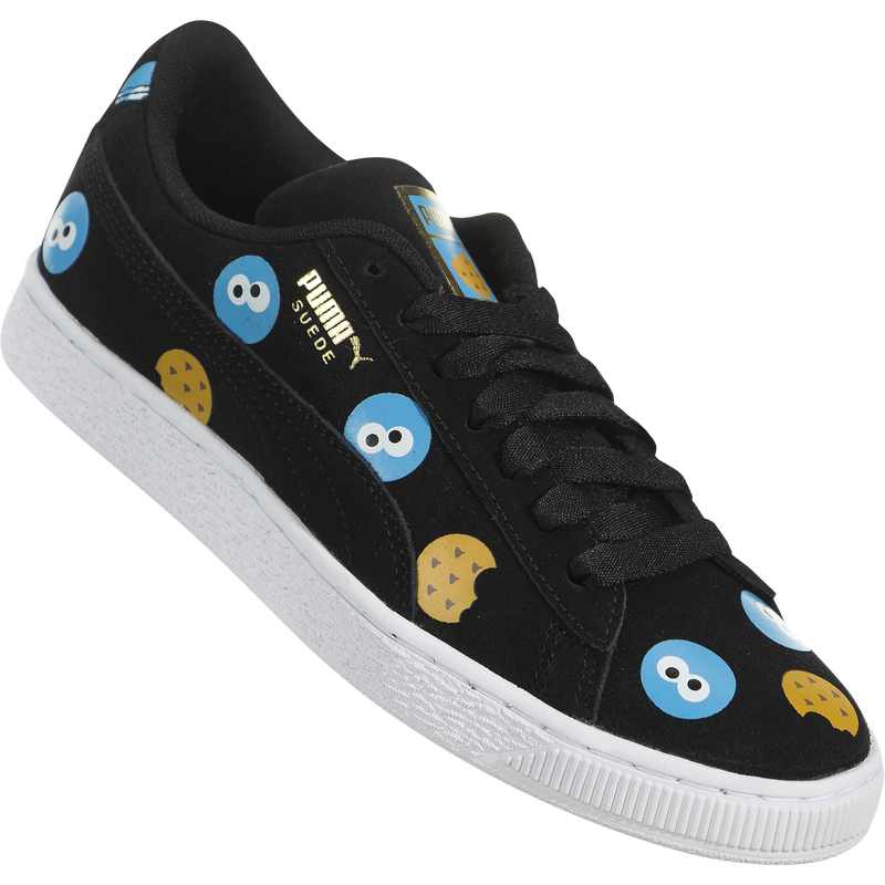 Puma x Sesame Street 50th Suede Badge (Kids)