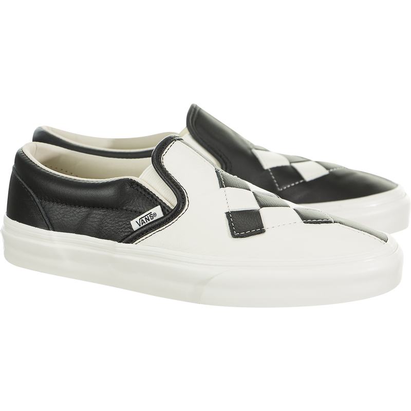 Vans Classic Slip-On (Woven Leather)