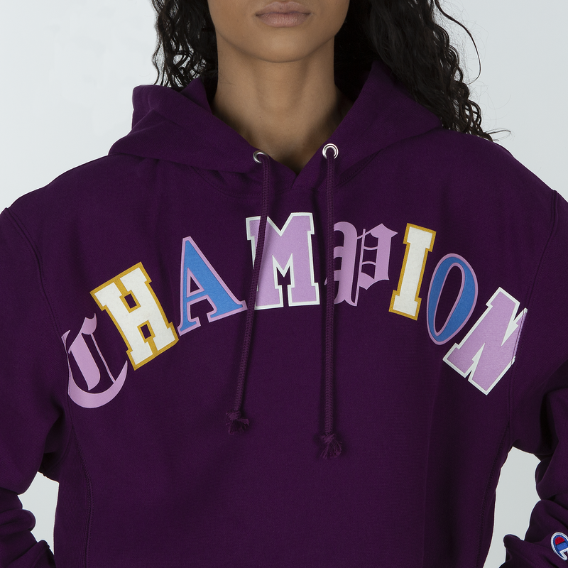 Champion Life Women's RW Pullover Cropped Cut-Off Hoodie