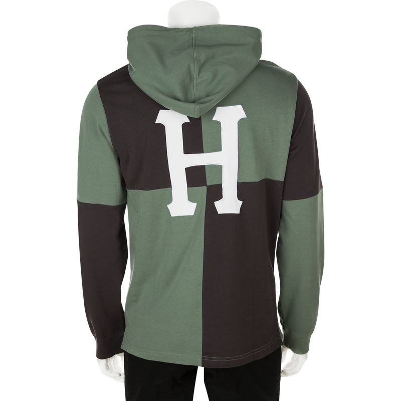 HUF Nostalgia Rugby LS Shirt