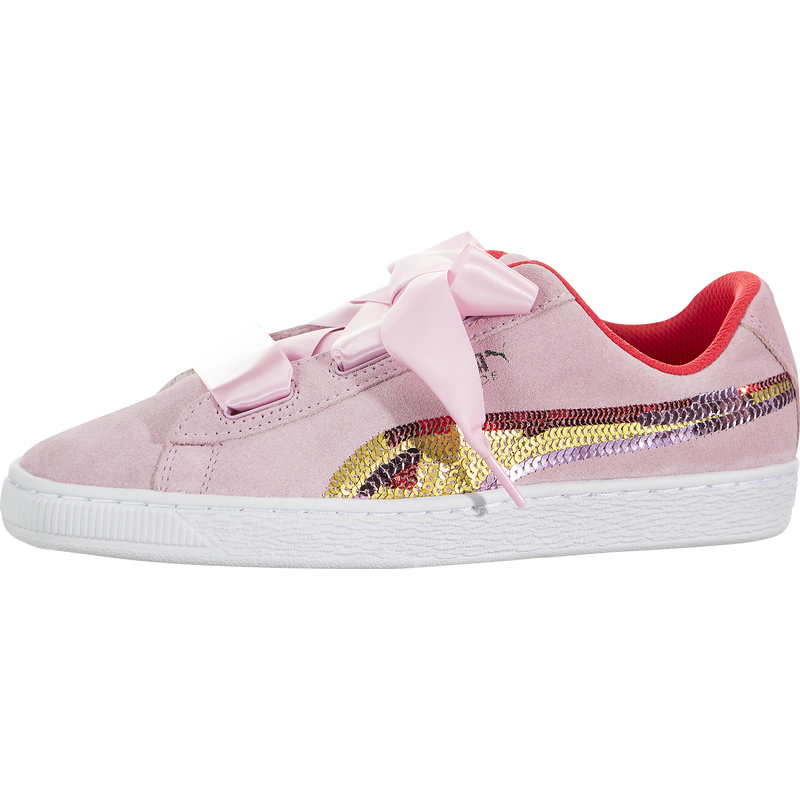 Puma Suede Heart Trailblazer Sequin (Kids)